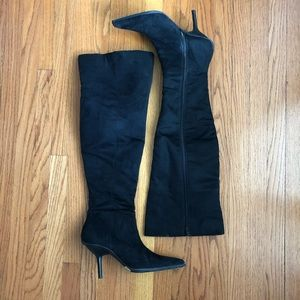 Sam Edelman over-the-knee suede boots 9